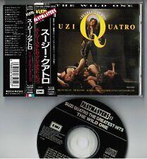 SUZI QUATRO The Wild One The Greatest Hits JAPAN CD TOCP-6395 w/OBI Pastmasters