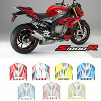 Motorcycle Wheel rim decals tape stripes stickers For BMW S1000R ALL MODELS