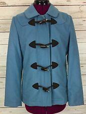Gap Blue Peacoat Jacket Wool Blend Size S