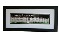Framed 1929 Philadelphia Athletics Panoramic Team Print (COLORIZED)