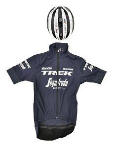 Santini Trek Segafredo Pro Cycling Team Kit Velocis MIPS S Women Vega Jacket XS