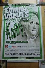 KORN  - Konzert Poster  Tourposter 2007