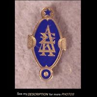 Antique 10k Gold Fraternity / Sorority Pin Delta Sigma Kappa