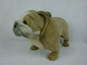 Vintage Avanti Applause Jockline Plush English Bulldog  ~ Life Size ~ 1987