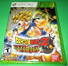 Dragon Ball Z: Ultimate Tenkaichi Xbox 360 *Factory Sealed! *Free Shipping!