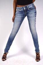Birdy Slim Fit Jeans by Herrlicher Blue Size UK 28W 32L rrp £96 DH086 BB 14