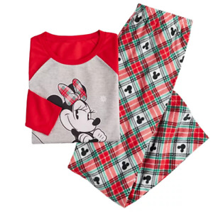 Disney Minnie Mouse Women Pajama Set Small Jammies for your families