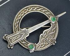 Emerald Silver Vintage Fine Jewellery (1980s)