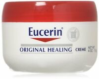 Eucerin Sensitive Skin Experts Original Healing Rich Creme 4 oz (Pack of 2)