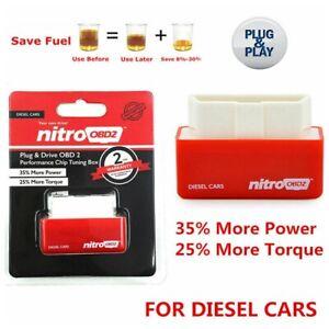 SUPER OBD2 For Diesel PERFORMANCE CHIP ADD POWER Fuel Saver Tuning Box Plug&Play
