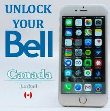 Bell Canada Network Offical Factory Unlock Service for IPhone SE/ 7 Plus/ 7,
