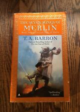 THE SEVEN SONGS OF MERLIN by T.A. Barron  2000 paperback  FANTASY SERIES