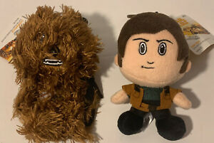 HAN SOLO & CHEWBACCA Heroez Clipz STAR WARS Backpack Bag Clips Back To School