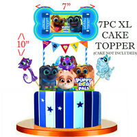 """10"""" PUPPY DOG PALS CUPCAKE CAKE TOPPER DECORATION PARTY SUPPLIES BALLOON TOPPERS"""