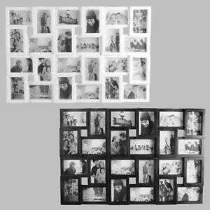 Bilderrahmen für 24 Fotos, Fotorahmen, Fotocollage Fotovorhang XXL Bildervorhang