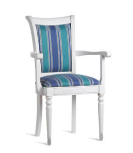 Chair White Design Living Room Dining Room Wood Chairs Pads With Arm Rest New