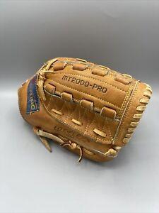 Vintage Mizuno MT2000  Pro Baseball Glove Lite Flex Double Loop Multi Hinge RHT