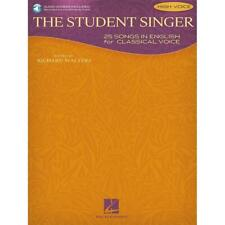 The Student Singer: 25 Songs in English for Classical Voice – High Voice Edition