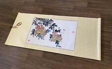 HANDPAINTED ORIGINAL ASIAN ART CHINESE WATERCOLOR PAINTING-Pomegranate
