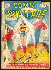 Comic Cavalcade #4 Wonder Woman Flash Green Lantern - Golden Age DC (1943) PR/FR