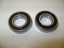 2pcs Nmd 6901 2rs Sealed Sae52100 Chrome Steel Bearings 12x24x6 Nmd6901 2rs