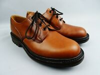 Hoggs of Fife Glenbeg Tan Hand Crafted County style shoes uk 6 Commando Sole