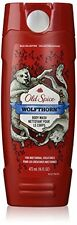 4 Pack Old Spice Wild Collection WOLFTHORN Body Wash 16 Oz Each