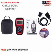 KW808 Konnwei OBDII EOBD Scanner Car Code Reader Tester Diagnostic MS509