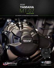 Yamaha MT-07 SECONDARY ENGINE COVER SET 2014-2018 GB Racing