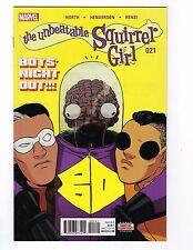 Unbeatable Squirrel Girl # 21 Regular Cover 1st Print NM Marvel