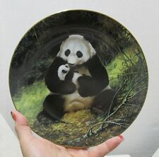 Last of Their Kind: The Endangered Species– Collector's Plate - The Panda - Nib
