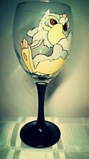 Hand Painted Thumper Bambi Large Washable Wine Glass Cute Gift