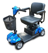 New Ev Rider CityCruzer 4 Wheels Transportable Mobility Scooter, Blue