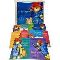 Paddington Bear 10 Books Collection Pack Set in Carrier Bag By Michael Bond NEW