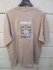 T-shirt SERGE BLANCO le polo 15 Quinze beige L rugby 19904696e92