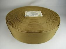 3 inch 20 feet Military  spec WHEAT  nylon webbing strapping