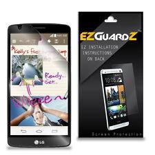 4X EZguardz LCD Screen Protector Skin Cover Shield HD 4X For LG G3 Stylus