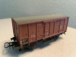 Märklin HO 312 Brown Closed Goods Wagon