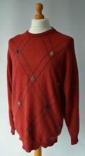 Men's red vintage Lyle & Scott Maglione Taglia M, medio.