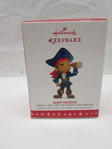 Hallmark Keepsake Ornament 2016 Disney Jake & the Neverland Pirates Ahoy Mateys!