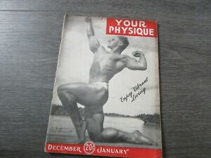 Your Physique Body Building Gym Fitness Interest Magazine December 1944