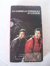 An American Werewolf In London, David Naughton, John Woodvine, Vhs 1981/85 Vest