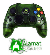 Genuine Microsoft Original Xbox Limited Edition Clear Green Controller  (Xbox)