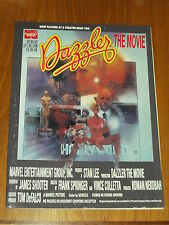 DAZZLER THE MOVIE COVER A MARVEL GRAPHIC NOVEL JAMES SHOOTER SPRINGER *