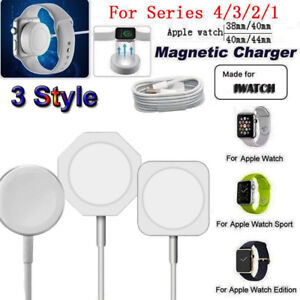 Magnetic Charger Charging Pad Cable For Apple Watch iWatch 1/2/3/4 38mm-42mm 1M