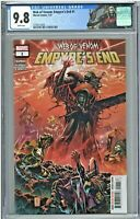 Web of Venom Empyre's End #1 CGC 9.8 1st First Print Edition Tan Cover Knull