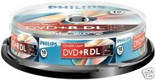 Philips DVD + R DL 8.5 gb, 8x Speed, SPINDLE 10 unid.