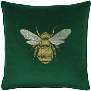 Riva Hortus Cushion Cover in Emerald 50cm x 50cm