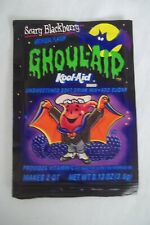 Vintage KOOL-AID Package Pouch Unopened Packet Ghoul-aid Scary Blackberry