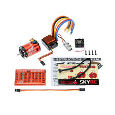 SkyRC 8.5T Brushless Sensored Sensorless Motor & ESC 60A & LED Program Card SZW
